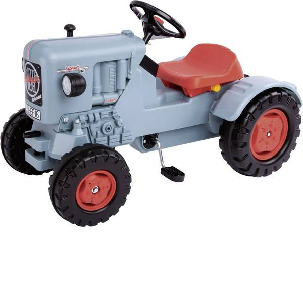 Veicoli a pedali - BIG Eicher trattore Diesel ED 16 -