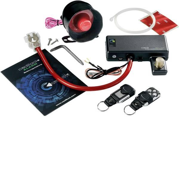 Impianti di allarme e antifurto per auto - Cadillock Alarm Sistema antifurto per auto Incl. telecomando , Sensore di vibrazione 12 V -