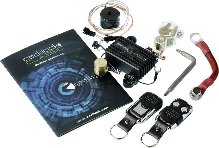 Controllo batteria Protezione contro le scariche, Speciale per Oldtimer, Incl. antifurto 12 V Cadillock CL-C Classic