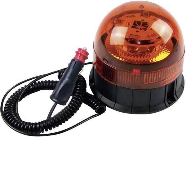 Lampeggianti e luci di segnalazione - Berger & Schröter Luce a tutto tondo 20209 12 V, 24 V via rete a bordo Ventosa, Montaggio a vite, Magnetico Arancione -