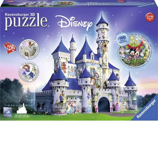 Puzzle - Ravensburger Puzzle 3D Disney lucchetto -