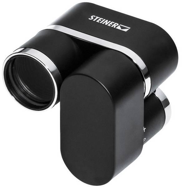 Monocoli e binocoli da teatro - Monocolo Steiner Miniscope 8 x 22 mm Nero -