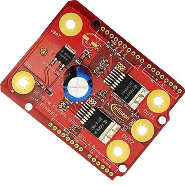 Shield e moduli aggiuntivi HAT per Arduino - Infineon Technologies DCMOTORCONTRBTN8982TOBO1 -