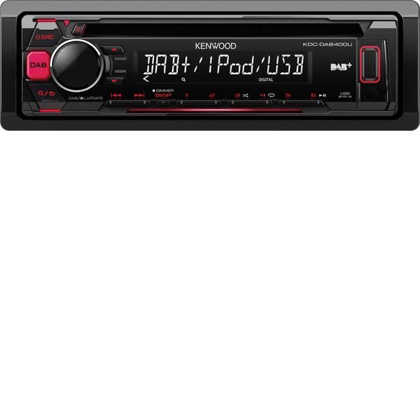 Autoradio e Monitor multimediali - Kenwood KDC-DAB400U Autoradio Sintonizzatore DAB+, Collegamento per controllo remoto da volante -