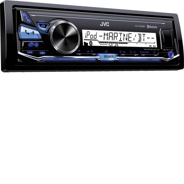 Autoradio e Monitor multimediali - JVC KD-X33MBTE Autoradio A prova di spruzzi, Collegamento per controllo remoto da volante, Vivavoce Bluetooth® -