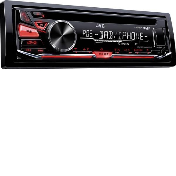 Autoradio e Monitor multimediali - JVC KD-DB67E Autoradio Sintonizzatore DAB+, incl. Antenna DAB, Collegamento per controllo remoto da volante -