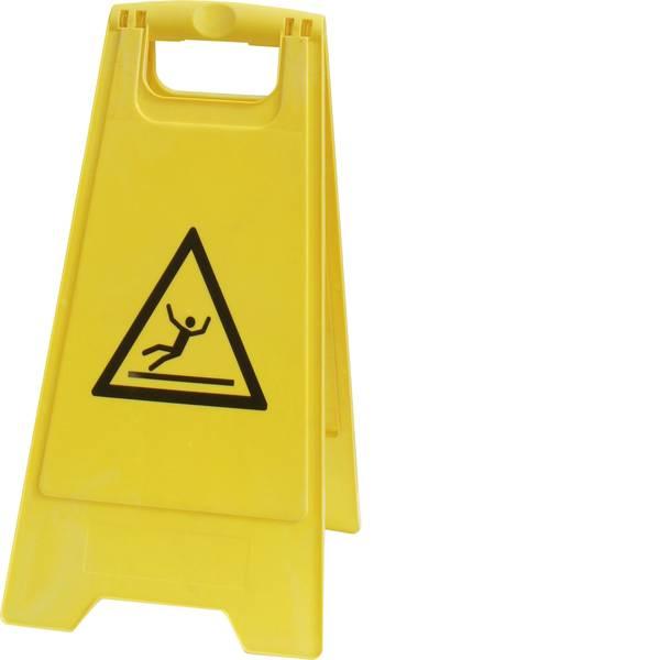 Cavalletti di segnalazione - Cavalletto segnaletico Pericolo di scivolamento (L x A) 300 mm x 600 mm ISO 7010 VISO PSG680 1 pz. -