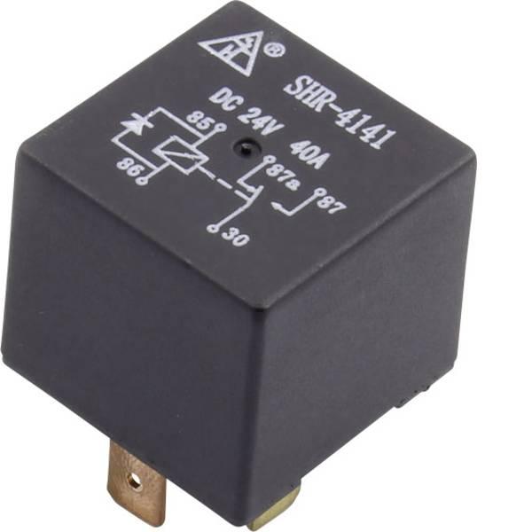 Relè auto - SHR-4141A SHR-24VDC-F-C 5pin Relè per auto 24 V/DC 40 A 1 scambio -