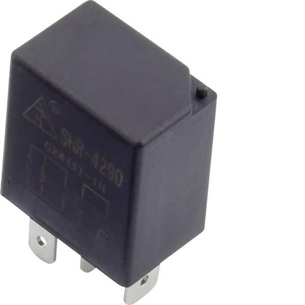 Relè auto - SHR-4290 SHR-12VDC-F-A 4pin Relè per auto 12 V/DC 30 A 1 NA -