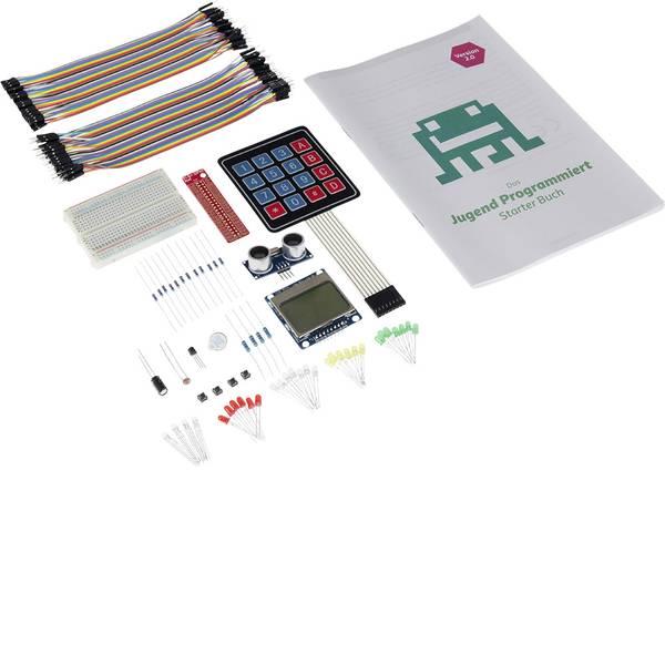 Kit esperimenti e pacchetti di apprendimento - Pacchetto di apprendimento Jugend programmiert Starter Set für Raspberry 1434230 -