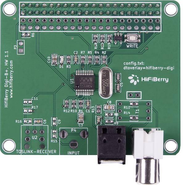 Shield Arduino e HAT Pi - HiFiBerry Scheda audio per Raspberry Pi® Digi+ -