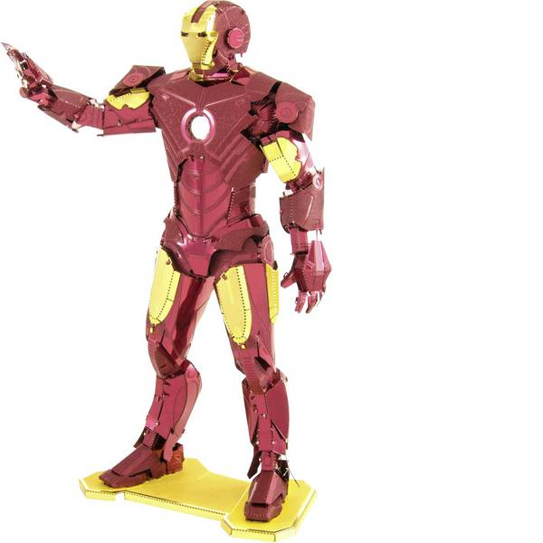 Kit di montaggio Metal Earth - Kit di metallo Metal Earth Marvel Avangers Iron Man -