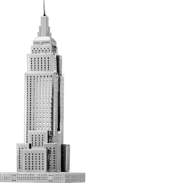 Kit di montaggio Metal Earth - Kit di metallo Metal Earth Empire State Building -