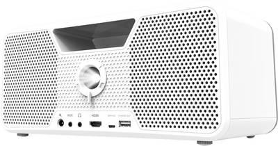Videoproiettore DLP Aiptek Flicks 140 Luminosità: 700 lm 1280 x 800 WXGA 10000 : 1 Bianco
