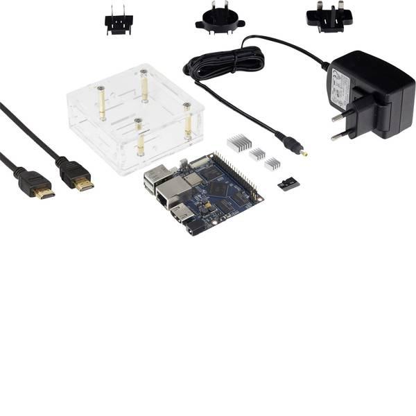 Schede di sviluppo e Single Board Computer - Banana Pi BPI-M2+ BPI-M2+ Starter 1 GB 4 x 1.0 GHz incl. cavo di alimentazione, incl. cavo HDMI, incl. dissipatore,  -