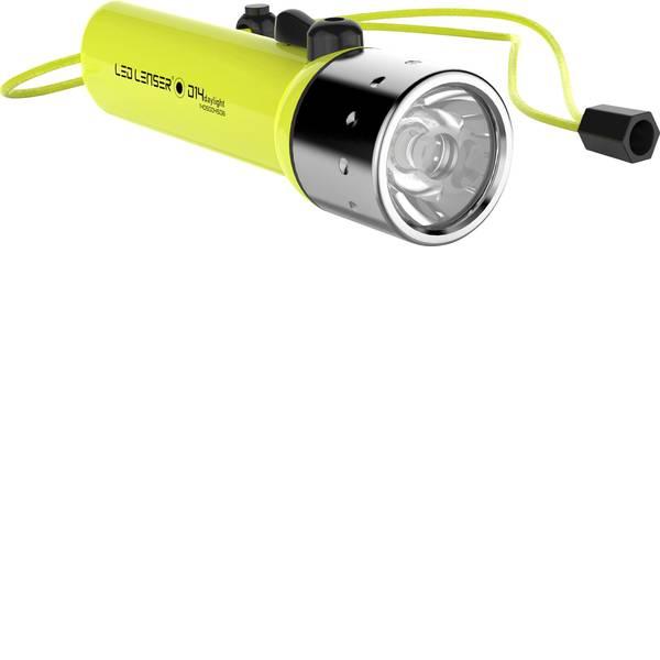 Lampade per campeggio, outdoor e per immersioni - LED Luce frontale subacquea Ledlenser D14.2 Daylight a batteria 233 g Giallo Neon 9214-W -