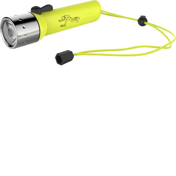 Lampade per campeggio, outdoor e per immersioni - LED Luce frontale subacquea Ledlenser D14.2 a batteria 233 g Giallo Neon 9214 -