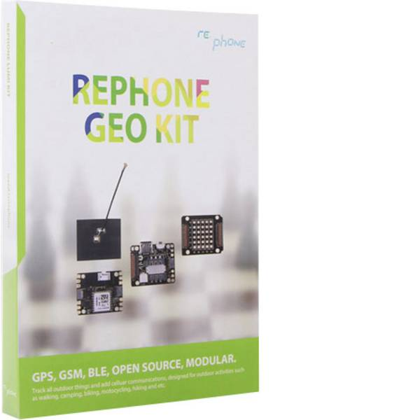 Kit esperimenti e pacchetti di apprendimento - Kit per costruire un cellulare Seeed Studio RePhone Geo Kit 113060003 -