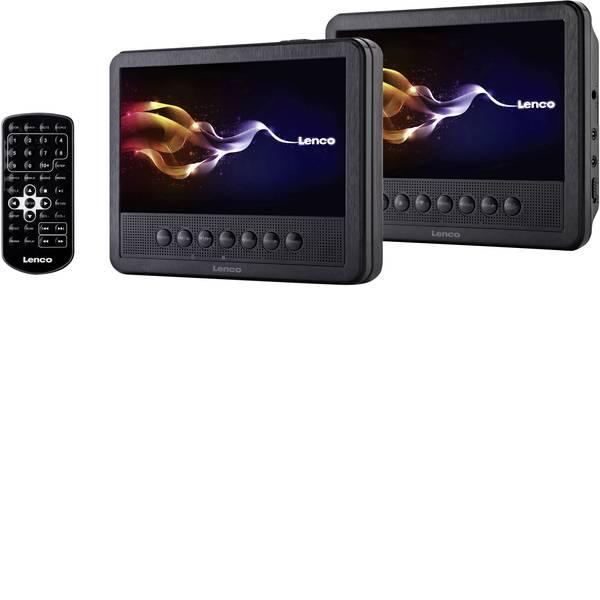 Sistemi DVD per poggiatesta auto - Lenco MES-212 Lettore DVD per poggiatesta con 2 monitor Diagonale schermo=17.5 cm (7 pollici) -