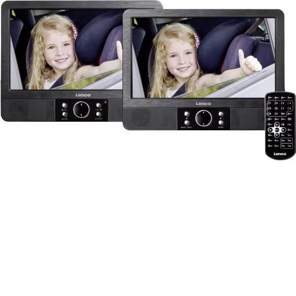 Sistemi DVD per poggiatesta auto - Lenco MES-405 Lettore DVD per poggiatesta con 2 monitor Diagonale schermo=22.5 cm (9 pollici) -