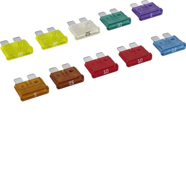 Fusibili per auto - Fusibile piatto standard 3 A, 5 A, 7.5 A, 10 A, 15 A, 20 A, 25 A, 30 A Blu, Rosso, Bianco, Giallo, Verde, Viola, Marrone  -