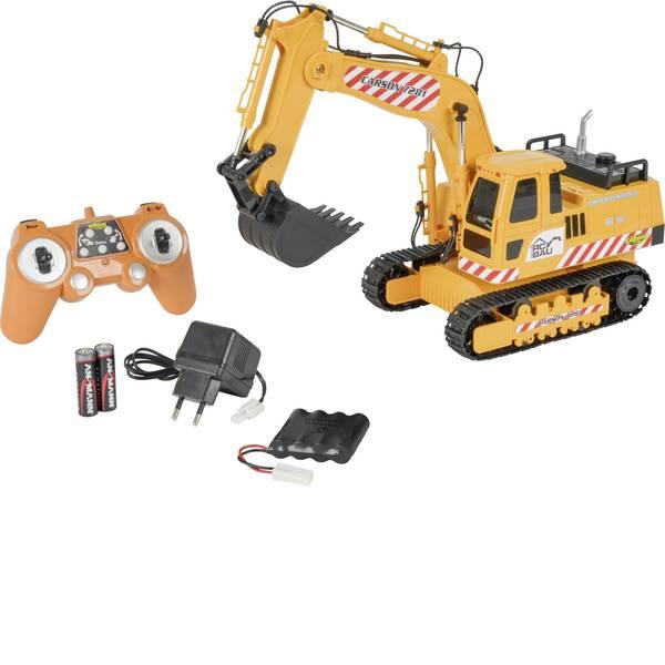 Trattori e mezzi da cantiere RC - Escavatore cingolato Modellino per principianti Carson RC Sport 1:20 Veicolo incl. Batteria, caricatore e batterie  -