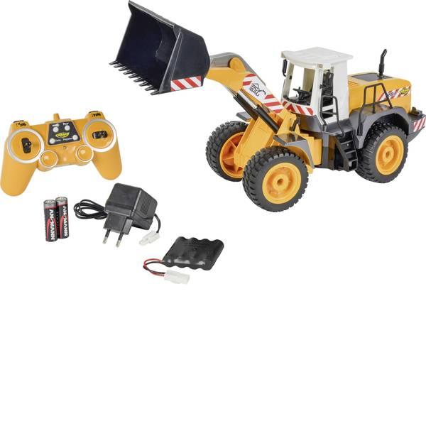 Trattori e mezzi da cantiere RC - Ruspa pala gommata Modellino per principianti Carson RC Sport 1:20 Veicolo incl. Batteria, caricatore e batterie  -