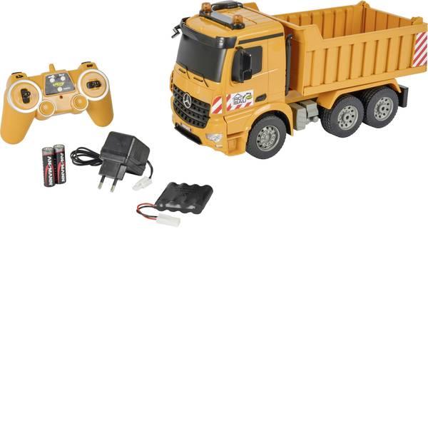Trattori e mezzi da cantiere RC - Autocarro con cassone ribaltabile Modellino per principianti Carson RC Sport 1:20 Veicolo incl. Batteria, caricatore e  -