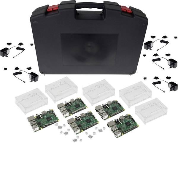 Schede di sviluppo e Single Board Computer - Raspberry Pi® 3 Modello B Starter Set 1 GB senza sistema operativo con custodia, alimentatore incluso -