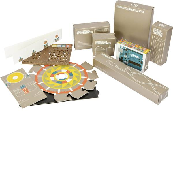 Kit e schede microcontroller MCU - Starter kit Arduino Kit tedesco ATMega328 -