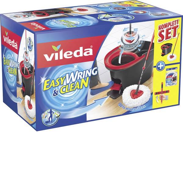 Pulizia dei pavimenti e accessori - Turbo Vileda Easy Wring & Clean kit completo con mocio e secchi e testa di ricambio extra Classic 153095 -