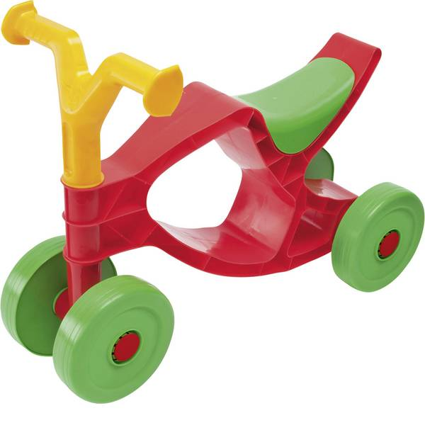 Auto a spinta - Veicolo a spinta per bambini Big Flippi Rosso, giallo, verde, -