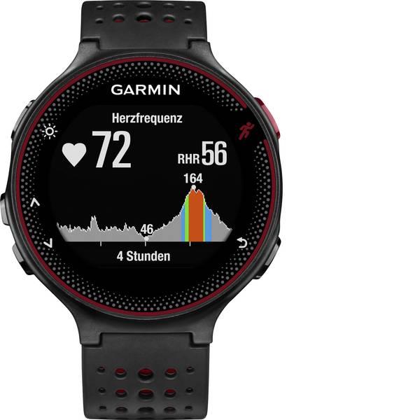 Dispositivi indossabili - Garmin Forerunner 235 WHR Marsalia Smartwatch Uni Nero, Rosso mogano -