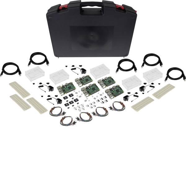Schede di sviluppo e Single Board Computer - Raspberry Pi® 3 Modello B Advanced Set 1 GB con custodia, alimentatore incluso -