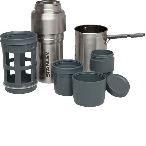 Stoviglie da campeggio - Pentola da campeggio Stanley Coffee-System 1 pz. 10-01698-001 Acciaio inox -