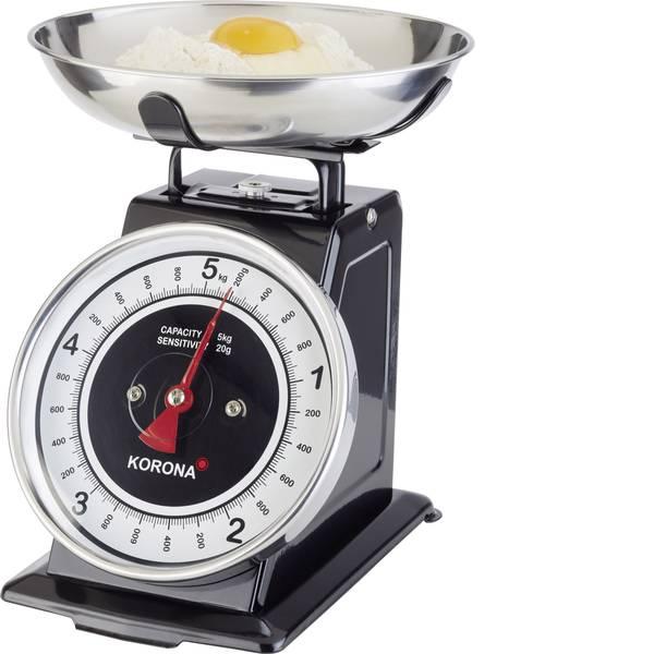 Bilance da cucina - Korona Tom Bilancia da cucina analogica Portata max.=5 kg Nero -