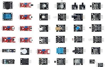 Kit sensori 37 in 1 Sensor Kit für Arduino™ Adatto per (scheda): Arduino