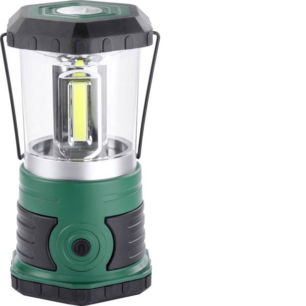 Lampade per campeggio, outdoor e per immersioni - LED Lanterna da campeggio Ampercell Korsika 620 lm a batteria 700 g Verde scuro, Nero 10401 -