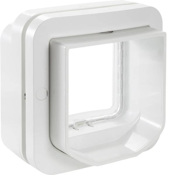 Prodotti per animali domestici - Porticina per animali domestici SureFlap Mikrochip DualScan Bianco 1 pz. -
