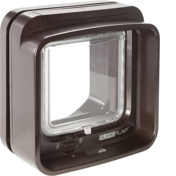 Prodotti per animali domestici - Porticina per animali domestici SureFlap Mikrochip DualScan Marrone 1 pz. -