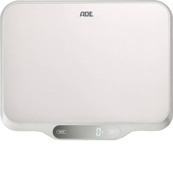 Bilance da cucina - ADE KE 1601 Ladina Bilancia da cucina digitale Portata max.=15 kg Acciaio inox (spazzolato) -