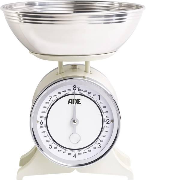 Bilance da cucina - ADE KM 1500 Anna Bilancia da cucina analogica, con contenitore di misurazione Portata max.=8 kg crema -