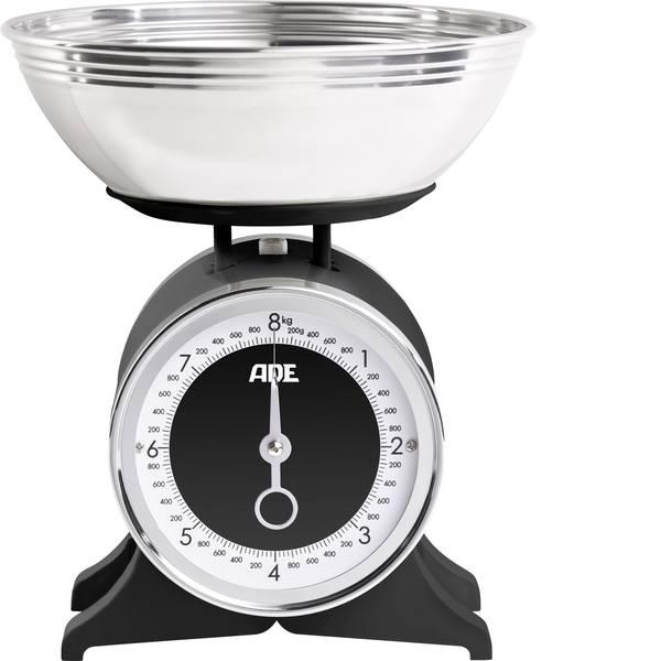Bilance da cucina - ADE KM 1501 Anna Bilancia da cucina analogica, con contenitore di misurazione Portata max.=8 kg Nero -