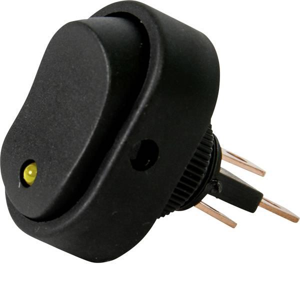Interruttori per auto - HP Autozubehör Interruttore a bilanciere per auto 12 V 16 A 1 x Off / On Permanente 1 pz. -