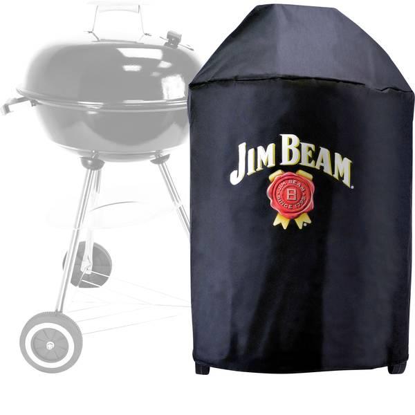 Accessori grill - Telo di copertura per barbecue Jim Beam Nero per barbecue a sfera con diametro fino a 57cm -