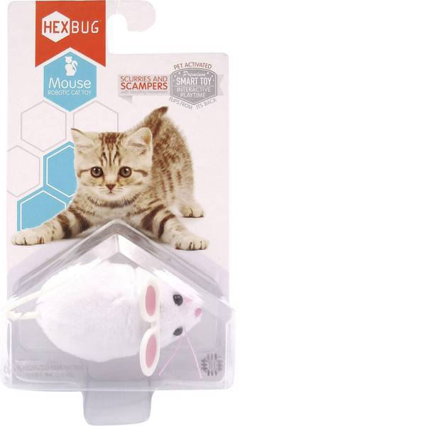 Robot giocattolo - HexBug Mouse Cat Toy Robot in kit da montare -