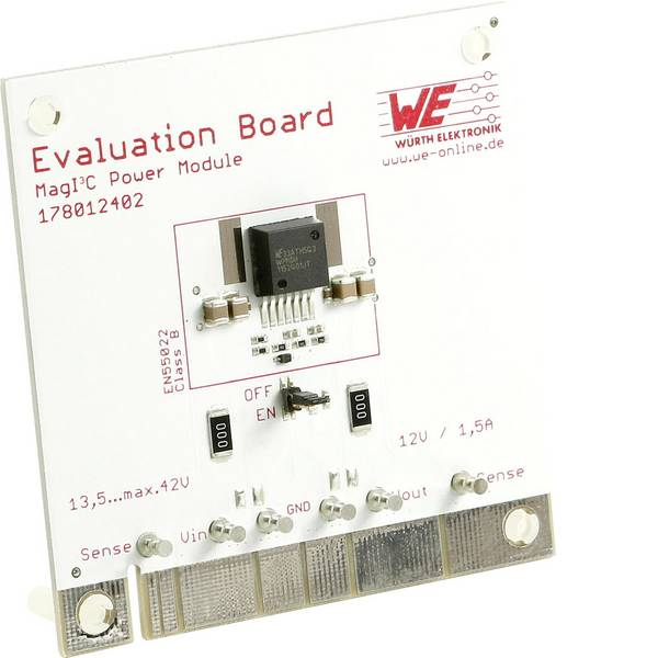 Kit e schede microcontroller MCU - Scheda di valutazione Würth Elektronik WPMDH115 2401 -