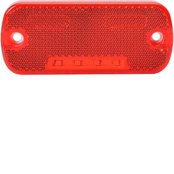Illuminazione per rimorchi - SecoRüt LED Luce di ingombro Luce di segnalazione posteriore 12 V, 24 V Rosso -