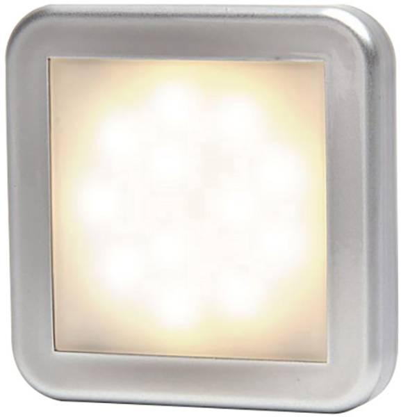 Illuminazione per rimorchi - SecoRüt LED Luce di ingombro Luce di segnalazione anteriore 12 V, 24 V Bianco, Argento -