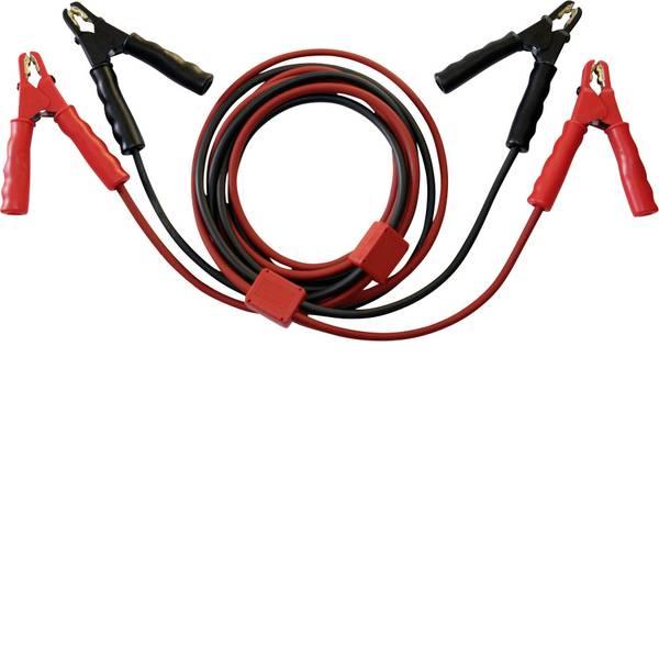 Cavi ausiliari - SET® SKS25-ST Cavi batteria per avviamento demergenza 25 mm² Rame 3.5 m con circuito di protezione, con pinze in lamiera  -